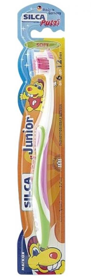 Зубная щетка  Putzi Junior, от 6 до 12 лет Silca