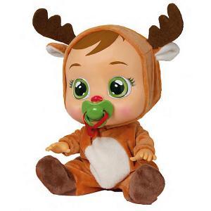 Плачущий младенец  Cry Babies Ruthy IMC Toys. Цвет: коричневый