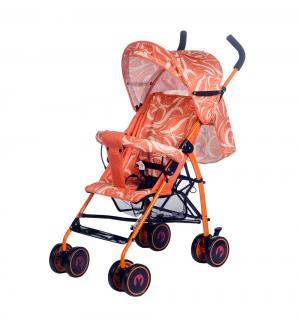 Коляска-трость  Dandy, цвет: wavy orange BabyHit