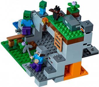 Конструктор  Minecraft 21141 Пещера зомби Lego