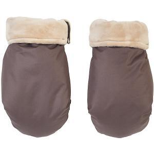 Муфта-рукавички для маминых рук , коричневый Mammie. Цвет: коричневый