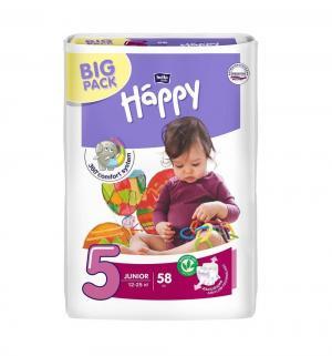 Подгузники  Junior 5 (12-25 кг) 58 шт. Bella Baby Happy