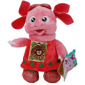 Мягкая игрушка Луня подружка Лунтика (м/ф Лунтик), 18 см, озвученная Мульти-Пульти. Цвет: розовый