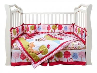 Комплект в кроватку  Shapito Jolly Balloon (7 предметов) Giovanni