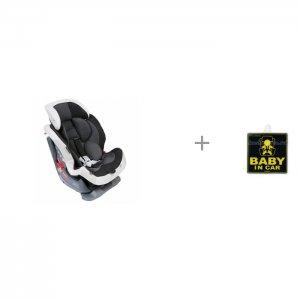 Автокресло  Swing Moon Premium с наклейкой ребенок в машине Child in Car sticker Carmate