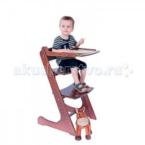 Стульчик для кормления  покрытый экологически чистым лаком (со столиком) Конёк Горбунёк