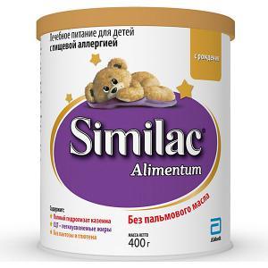 Молочная смесь  Alimentum, с 0 мес, 400 г Similac