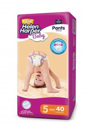 Подгузники-трусики  Baby Junior (12-18 кг) 40 шт. Helen Harper