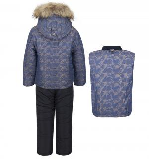 Комплект куртка/полукомбинезон , цвет: синий Fun Time