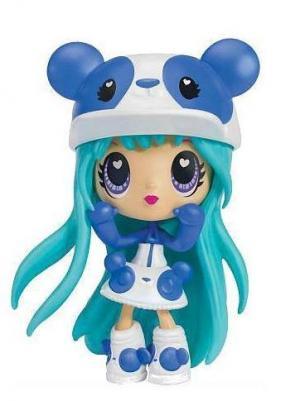 Кукла в блистере с синими волосами Kawaii