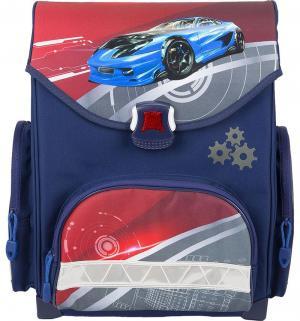 Ранец  Спортивная машина Action. Цвет: синий