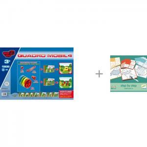 Конструктор  Mobile 4 19 элементов и Djeco Игра настольная Графф друзья Quadro