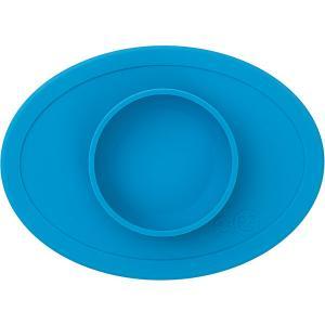 Тарелка с подставкой  Tiny Bowl синяя Ezpz