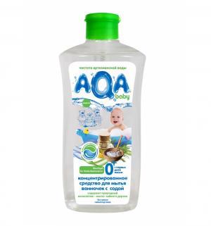 Средство AQA baby для мытья ванночек с содой, 500 мл