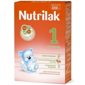 Молочная смесь  1 0-6 месяцев, 350 г Nutrilak