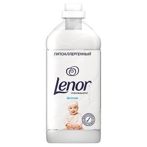 Кондиционер для белья  Концентрат чувствительной кожи Детский 2 л Lenor. Цвет: weiß/beige
