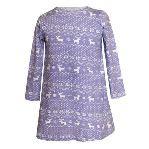 Платье  Скандинавские узоры Котмаркот