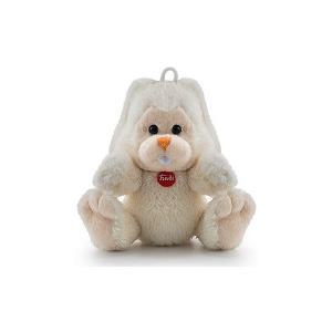 Мягкая игрушка  Заяц Вирджилио, 9 см Trudi. Цвет: белый