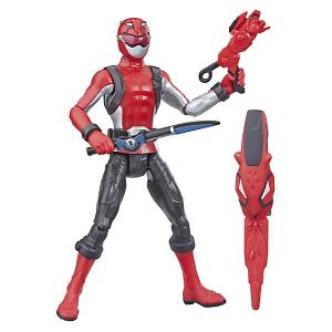 Игровая фигурка Power Rangers Beast Morphers Красный Рейнджер, 15 см Hasbro. Цвет: разноцветный