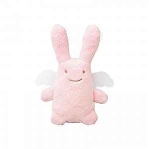 Мягкая игрушка Зайка с крылышками, музыкальный, розовый, 24см, Trousselier
