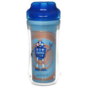 Чашка-термос Dr.Browns Монстр без носика, с 12 месяцев, цвет: синий Dr.Brown's