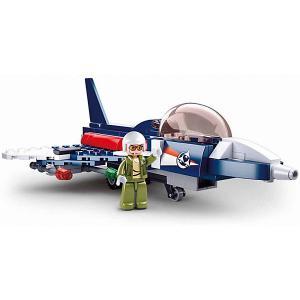 Конструктор  Авиация Самолёт-шпион, 134 детали Sluban. Цвет: разноцветный
