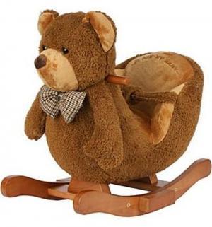 Качалка-игрушка  Мишка, цвет: коричневая Lider Kids
