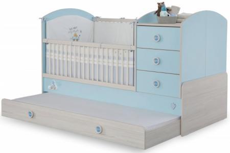 Кроватка-трансформер  Baby Boy 130х80/180х80 см Cilek