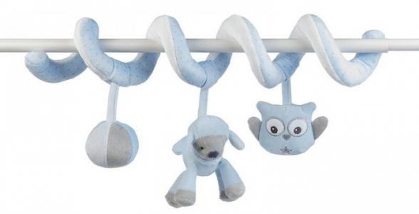 Подвесная игрушка  Toy spiral Sam & Toby Овечка и Собачка Nattou