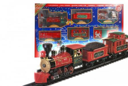 Железная дорога North Pole Express Train Set 22 части Eztec