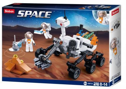 Конструктор  Космический марсоход (288 деталей) Sluban