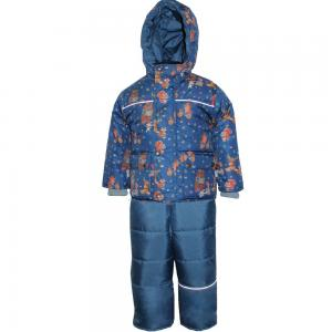 Комплект куртка/полукомбинезон  МультиЛес, цвет: синий/зеленый Даримир