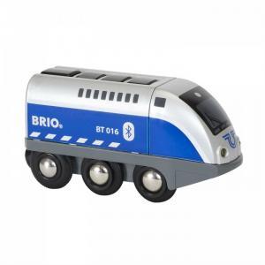 Игрушечный паровозик на ИК-управлении Оскар (свет, звук) Brio