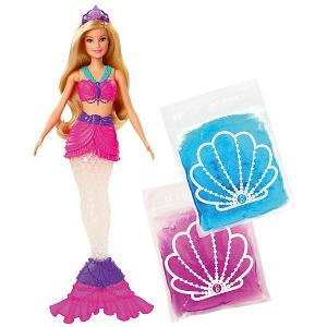 Кукла Barbie Русалочка со слаймом Mattel. Цвет: разноцветный