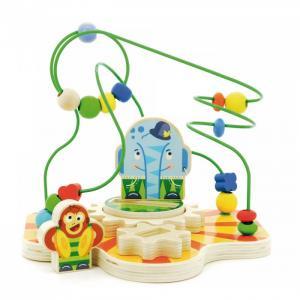 Деревянная игрушка  Сортер лабиринт Цирк Мир деревянных игрушек
