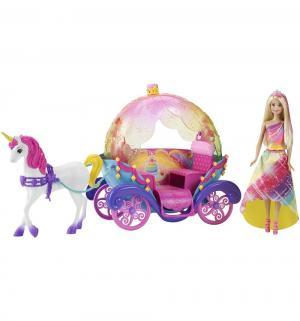 Игровой набор  с радужной каретой Barbie