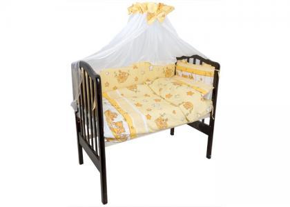 Комплект в кроватку  Мишка гамаке (7 предметов) Idea Kids
