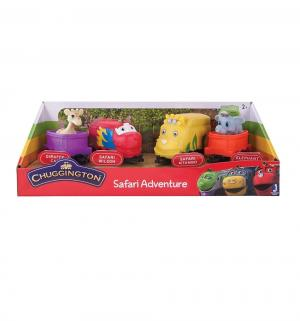 Игровой набор  паровозики Сафари парк Chuggington