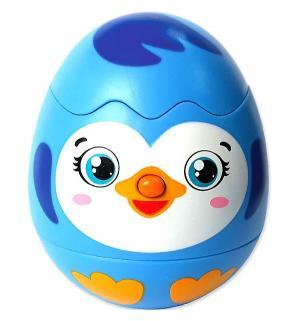 Игрушка-сюрприз  Пингвинчик интерактивная 9 см Азбукварик
