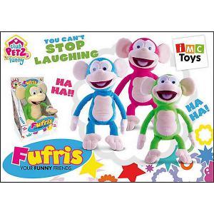 Интерактивная игрушка  Обезьянка Fufris, в ассортименте IMC Toys. Цвет: разноцветный
