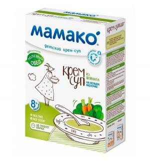 Суп-крем  На козьем молоке шпинат, 150 г Мамако