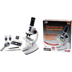 Микроскоп , 100/450/900 х, белый Eastcolight