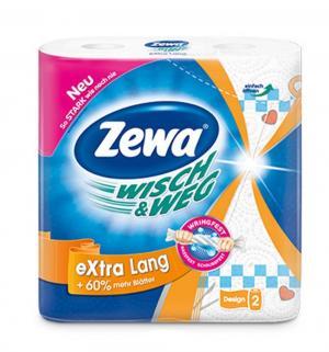 Бумажные полотенца Wish&Weg , 2 шт Zewa