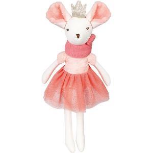 Мягкая игрушка  Мышка тильда, 31 см, бело-розовая Angel Collection. Цвет: розовый/белый