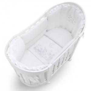 Постельное белье  Happy Family Oval (3 предмета) Italbaby