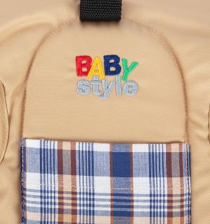Рюкзак-кенгуру, цвет: бежевый Babystyle