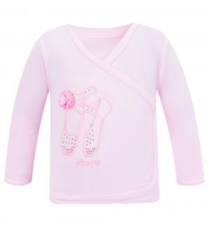 Распашонка  Балетки, цвет: розовый Nicol