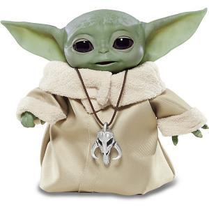 Интерактивная игрушка Star Wars Мандалорец Аниматроник Малыш Йода Hasbro. Цвет: grün/beige