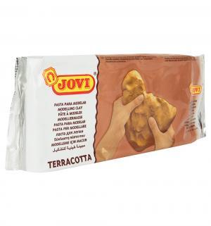 Паста для моделирования  терракотовая 1000 гр. Jovi