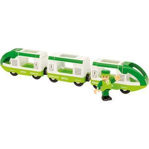 Игровой набор Brio Зелёный поезд и машинист